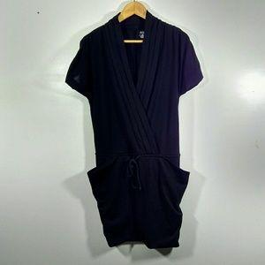 a.n.a. Black Sleeveless Tunic